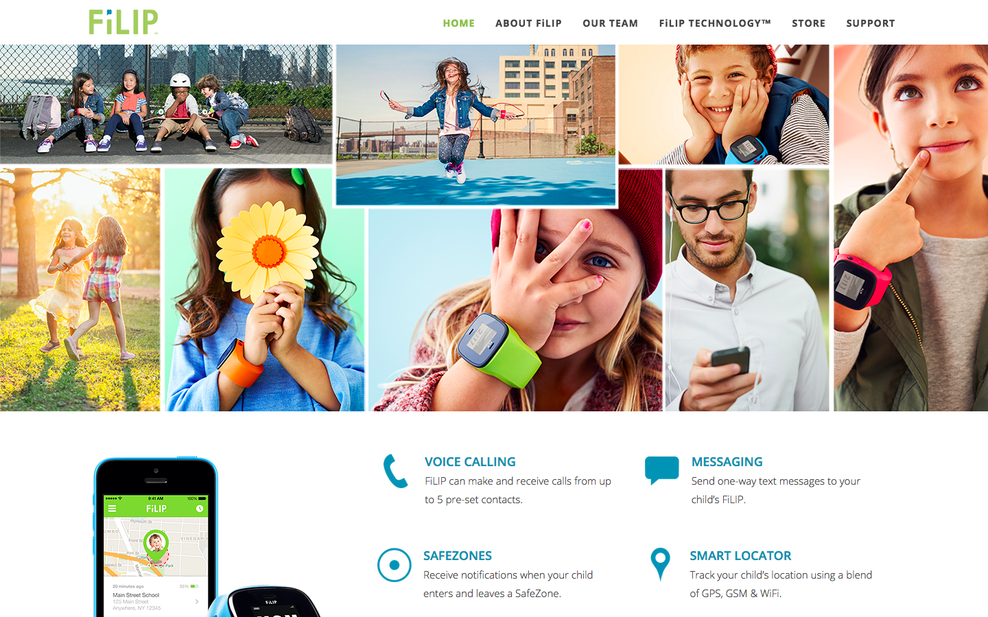 FiLIP - THE WORLD'S FIRST SMART LOCATOR AND PHONE FOR KIDS